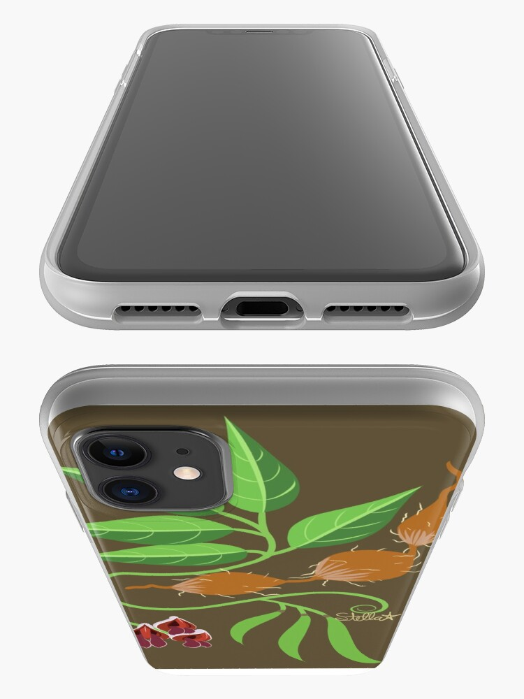 Alternate view of Groundnut - Apios Americana - Indian Potato iPhone Case & Cover