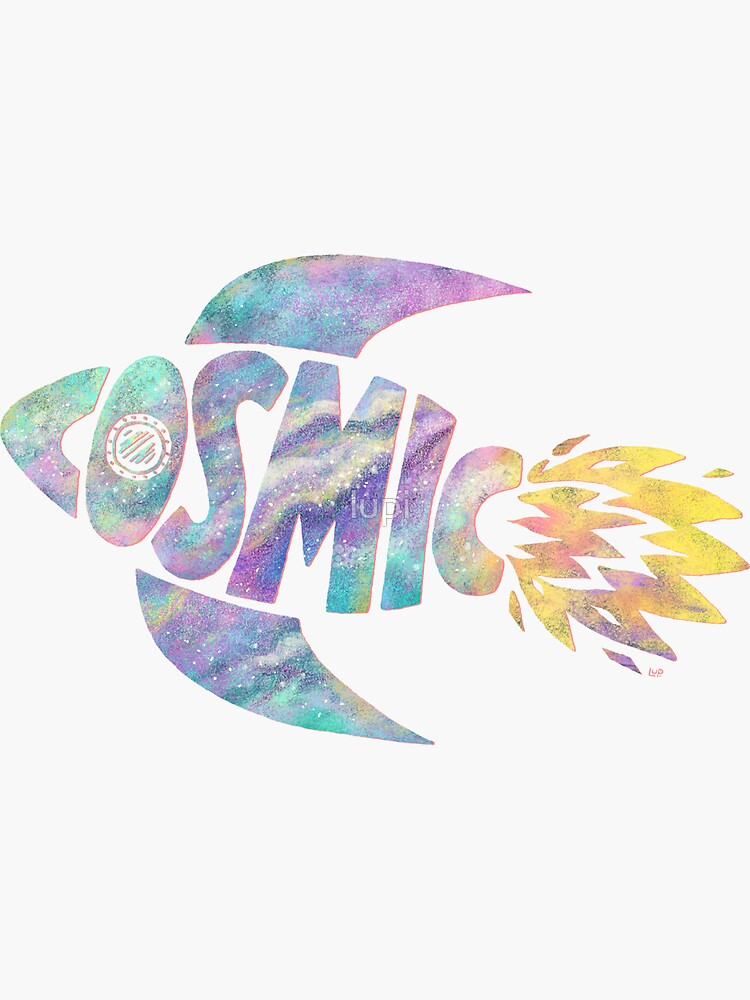 Cosmic Spaceship by lupi