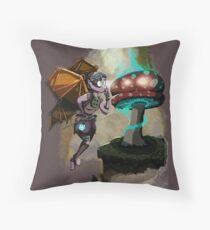 Steampunk Fairy Throw Pillow