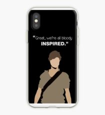 """Great, we're all bloody inspired."" Newt - The Maze Runner iPhone Case"