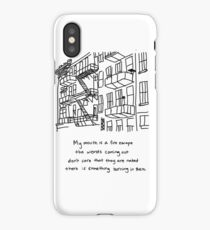 There Is Something Burning In There iPhone Case/Skin
