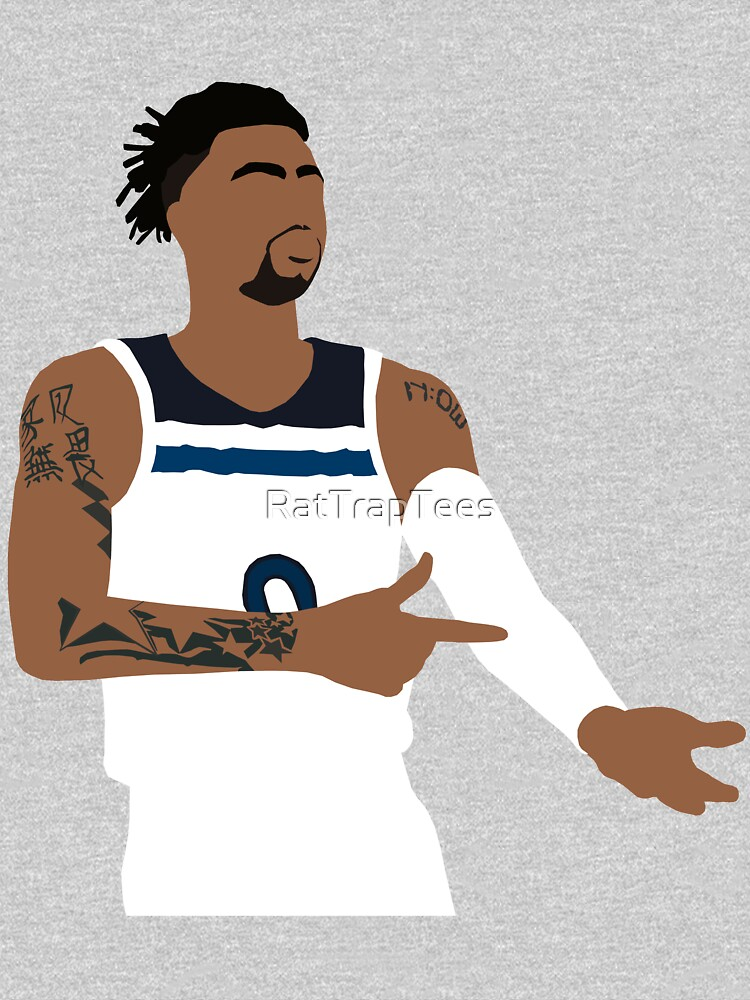 """D'lo """"Ice in His Veins"""" Timberwolves by RatTrapTees"""