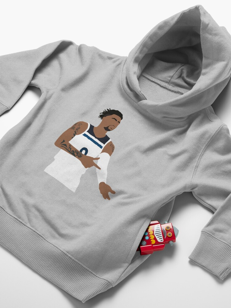 """Alternate view of D'lo """"Ice in His Veins"""" Timberwolves Toddler Pullover Hoodie"""