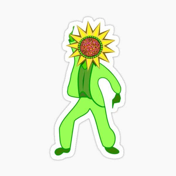 Disco Sunflower Sticker