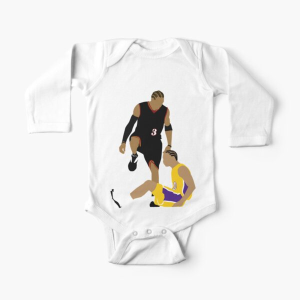 Allen Iverson Stepover Long Sleeve Baby One-Piece