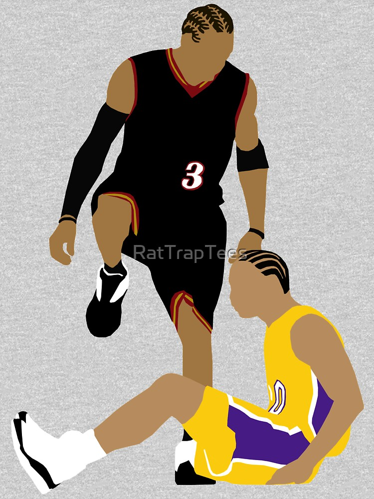 Allen Iverson Stepover by RatTrapTees