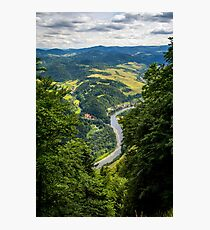 Hills River Photographic Print