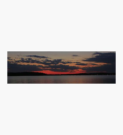 SunSet on Lake D'Arbonne Photographic Print
