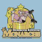 The Mushroom Kingdom Monarchs by rtofirefly