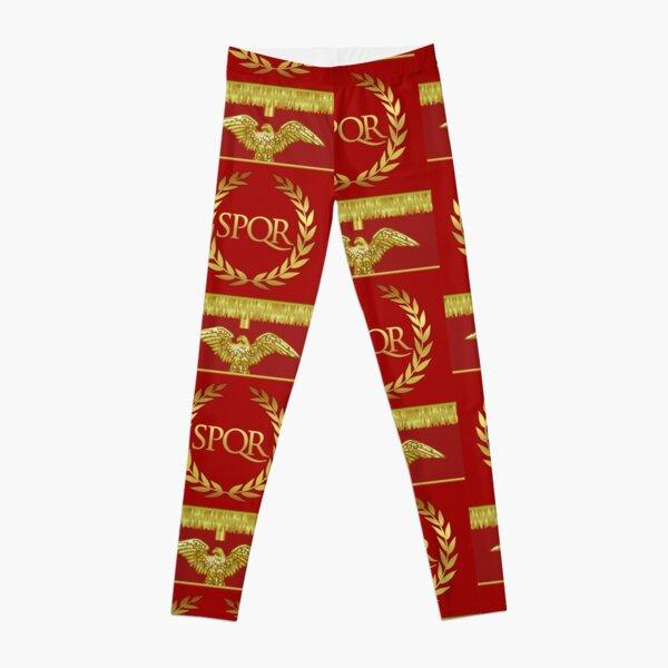 SPQR Roman Empire Banner Leggings