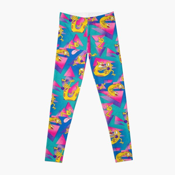 Catdog 90s pattern Nickelodeon Leggings