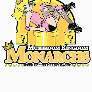 The Mushroom Kingdom Monarchs (Sticker) by rtofirefly