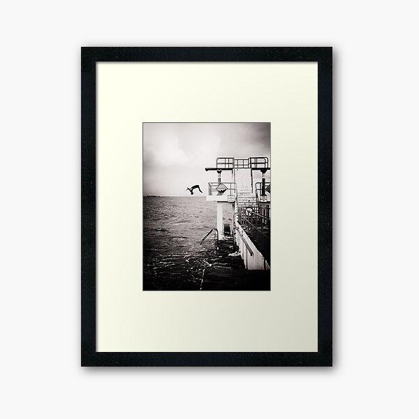 back flip.. Framed Art Print