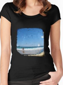 Sand & Surf - TTV Women's Fitted Scoop T-Shirt