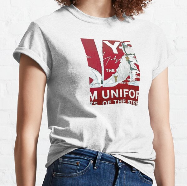 Abstract Street Poster Decollage  Classic T-Shirt