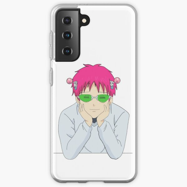 Happy Saiki Samsung Galaxy Soft Case