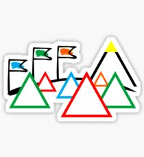 Campsite - Festival Sticker