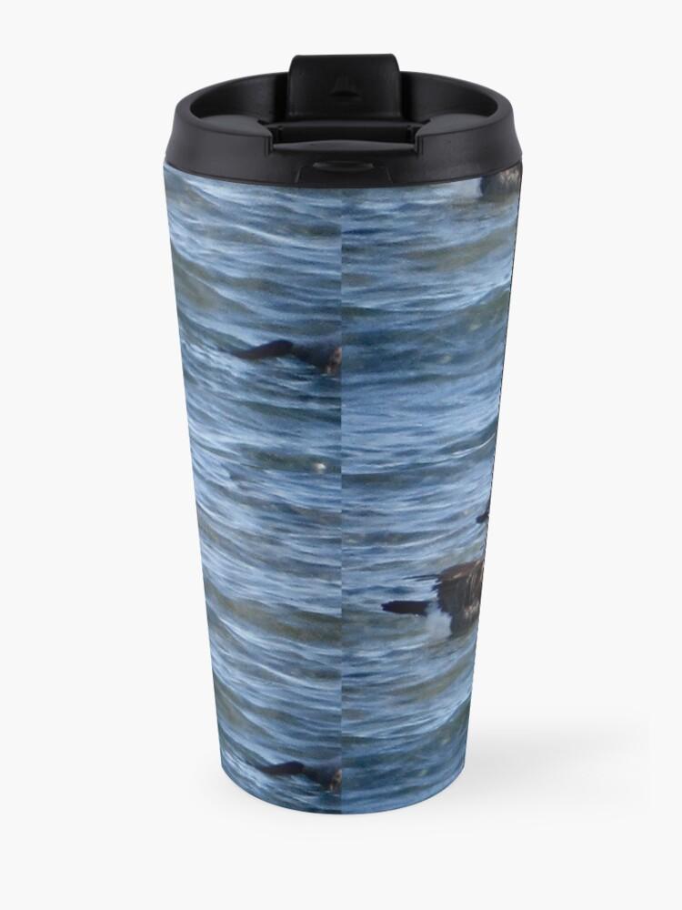 Alternate view of Aquatic  love  Travel Mug