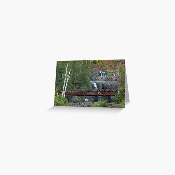 Destination: Gooseberry Falls Greeting Card