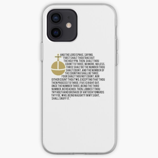Holy Hand Grenade iPhone Soft Case