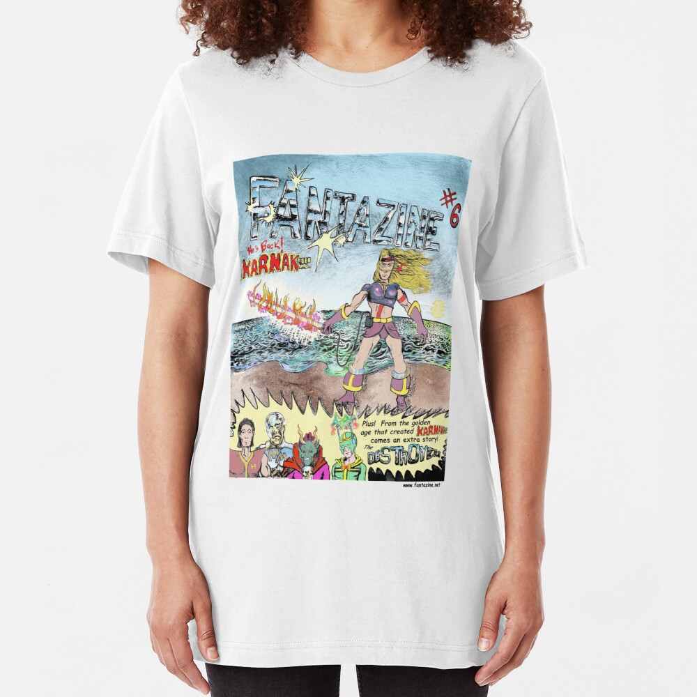 Karnak 9000 AD Slim Fit T-Shirt