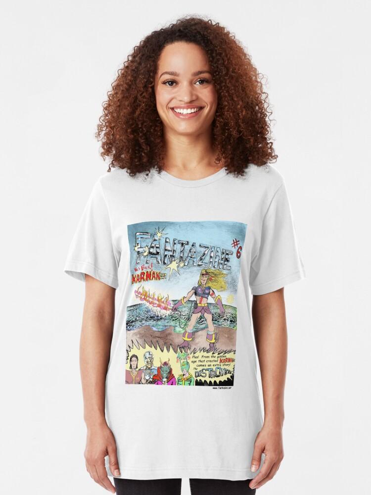 Alternate view of Karnak 9000 AD Slim Fit T-Shirt