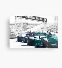 Vintage Formula One 'F1' Racecars Metal Print