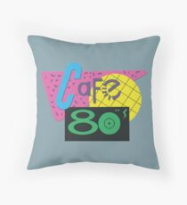 Cafe 80s – Back To The Future II, Marty McFly, Pepsi Perfect Throw Pillow