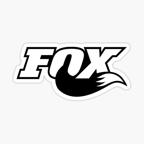 Logo Fox Racing Tail Sticker