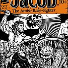Jacob The Amish Rake-Fighter by ZugArt