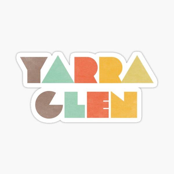 Yarra Glen Vintage Sticker