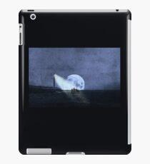 Across The Sea A Pale Moon Rises iPad Case/Skin
