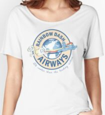 Rainbow Dash Airways Women's Relaxed Fit T-Shirt