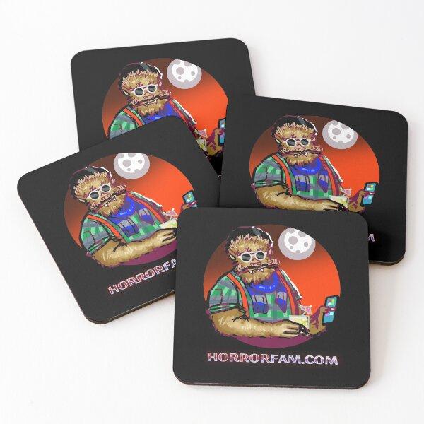 Warren - Hipster Werewolf Coasters (Set of 4)