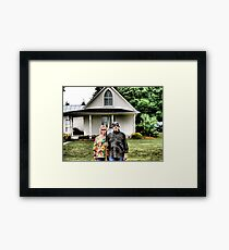 American Gothic Today Framed Print