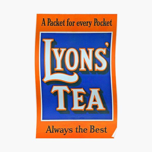 Wall art. poster Lyons Tea Vintage poster Reproduction