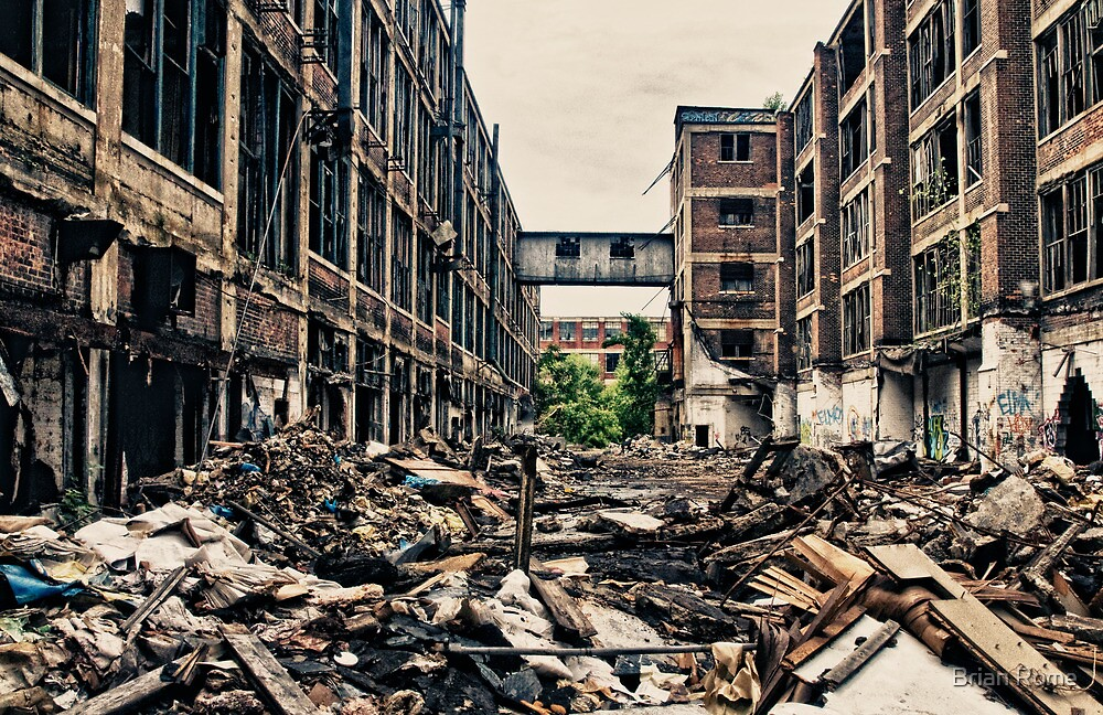 knee deep in the rubble by Brian Rome
