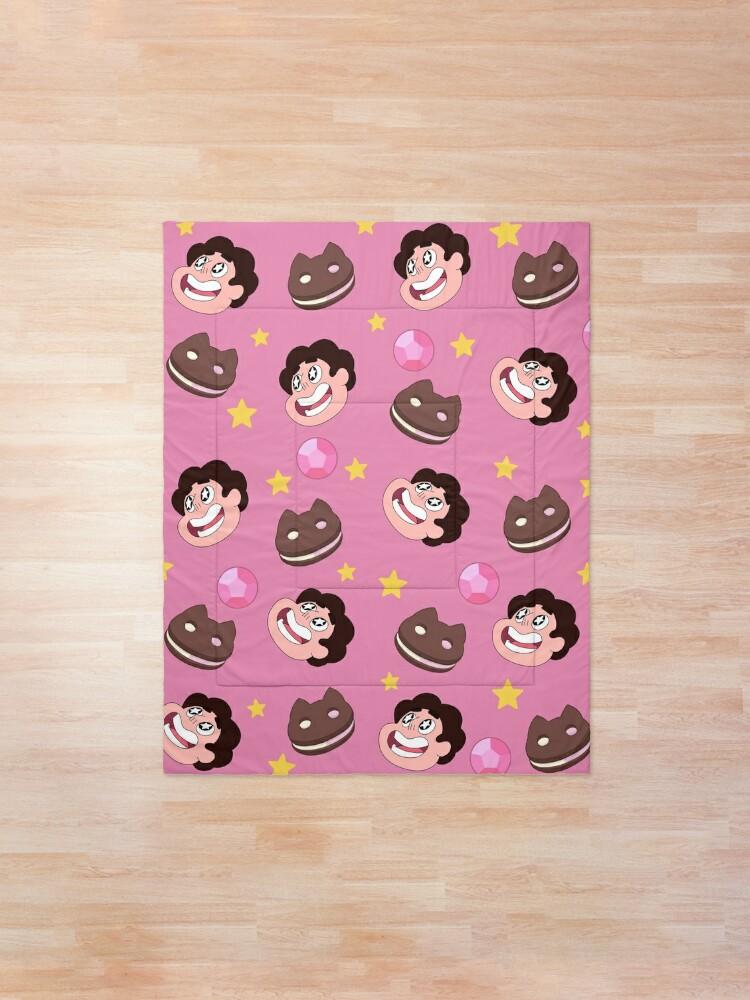 Alternate view of Steven Universe pattern Comforter