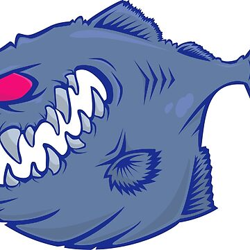 7 colors vector Piranha by LazyDesigns