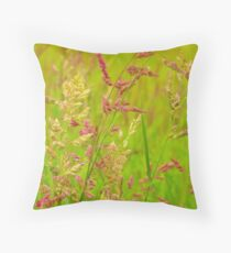 Intimate Fields Iowa Throw Pillow