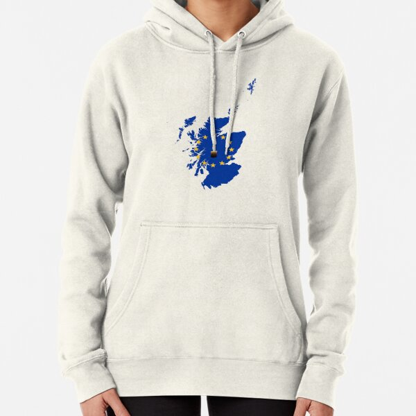Leave a Light on for Scotland Pullover Hoodie