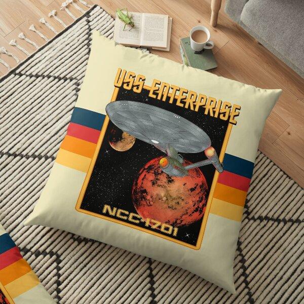 USS Enterprise NCC-1701 Floor Pillow