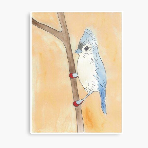 Ilya - Birds in Heels Original Metal Print