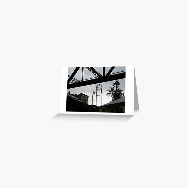 beneath Sydney's Harbour Bridge Greeting Card