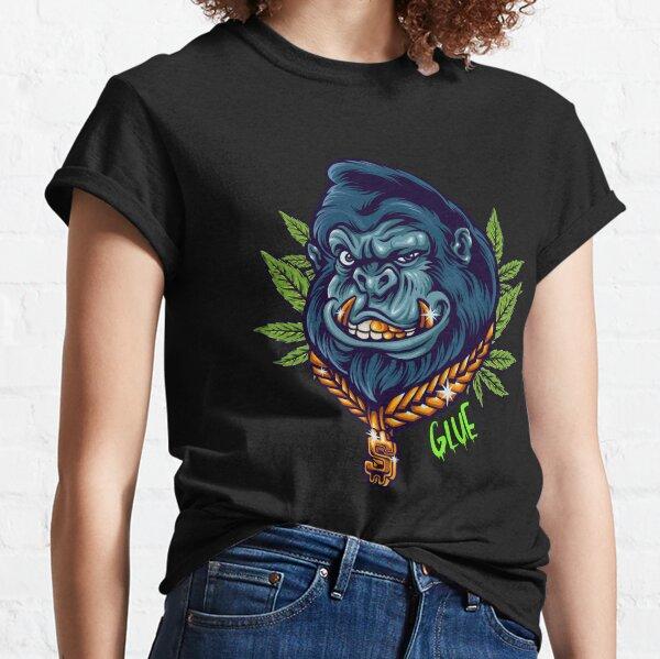 Gorilla Glue Weed Strain 420 Stoner Smoking Dank Bud Cannabis Classic T-Shirt