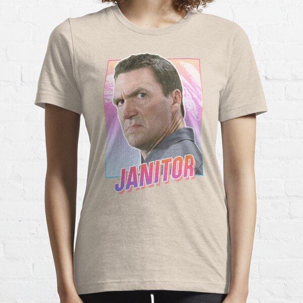 Scrubs Janitor - 80s design Essential T-Shirt