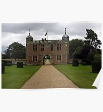 Gatehouse and driveway Poster