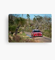 Targa West 2011 - Car 15 - Photo 1 Canvas Print