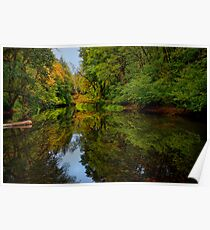 Reflections Of Light ~ Siuslaw River ~ Poster