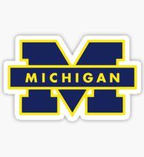 University of Michigan Logo Sticker